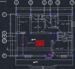 نقشه معماری ساختمان  138متری ابعاد زمین 13در10سه خوابه