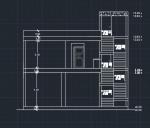 نقشه ساختمان تجاری مسکونی 329.40 متری (9.90 در 10) اسکلت بتن